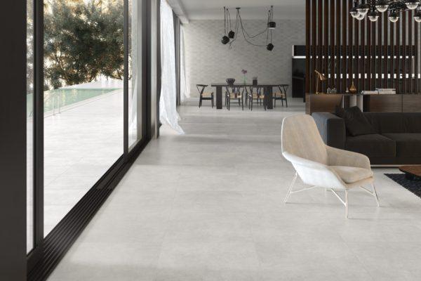 Foster light concrete tiles