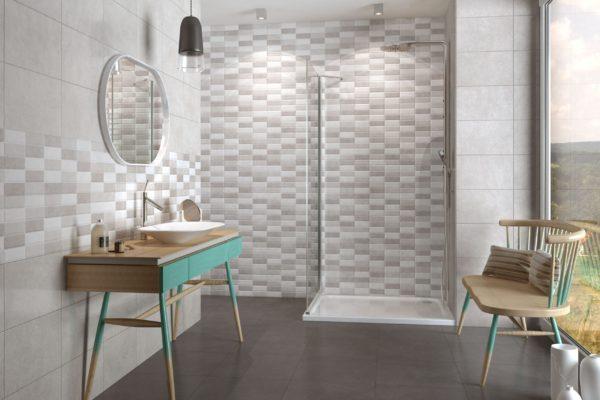 Foster grey concrete tiles