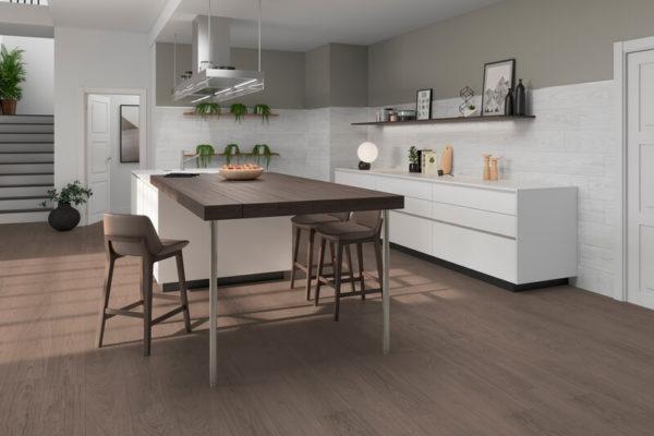 Nomad brown wood flooring