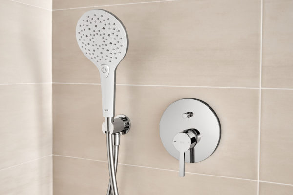 Stainless steel hand shower