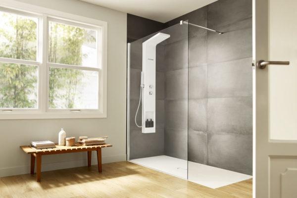 Roca deck shower column