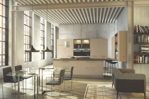 Luxury kitchen and dining area