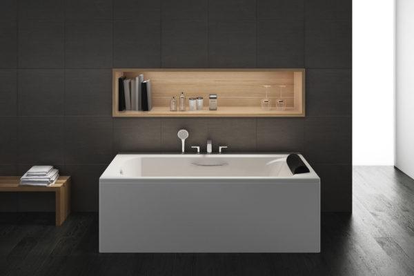 Acrylic bathtub Roca BeCool 170 * 80