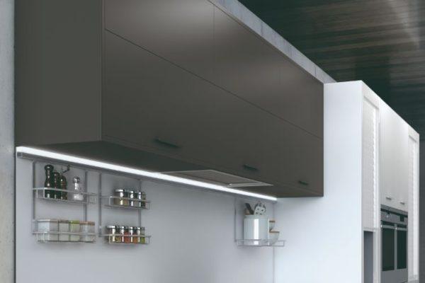 Kitchen gray cabinet