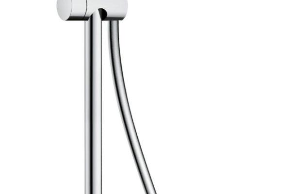 crometta showerpipe with single level mixer