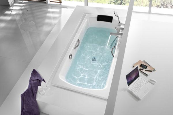 Roca vythos double ended acrylic bath with apron