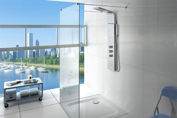 Exquisite shower column