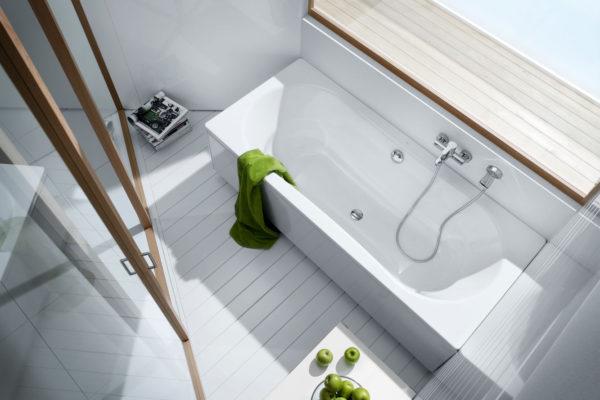 Roca vythos double ended acrylic bath