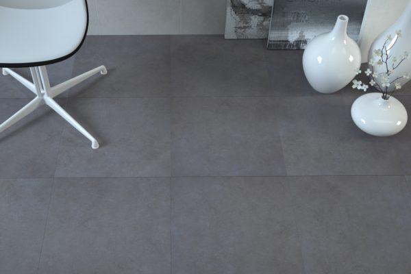 Aleppo grey concrete finish tiles