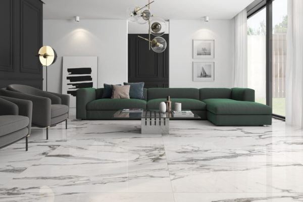 Altissimo marble floor