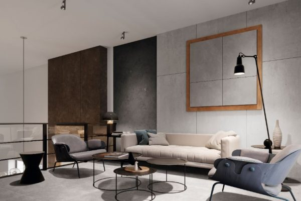 Arianne grey 60X60 floor tiles