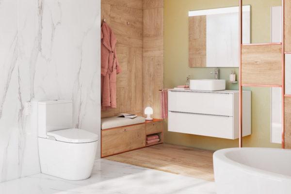 Inspira in wash WC suites