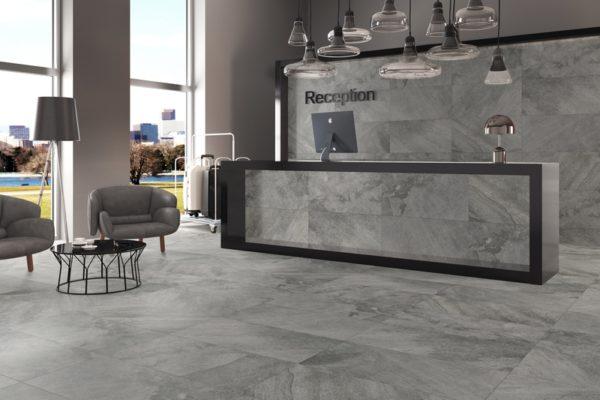 Arcadia grey stone flooring
