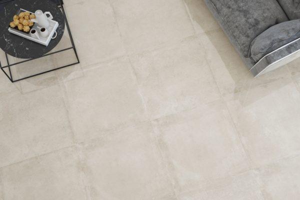 Concrete finish tiles
