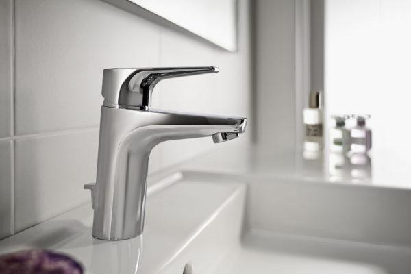 Roca atlas basin mixer tap chrome