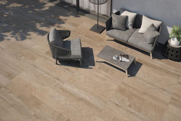 Blum roble wood tile