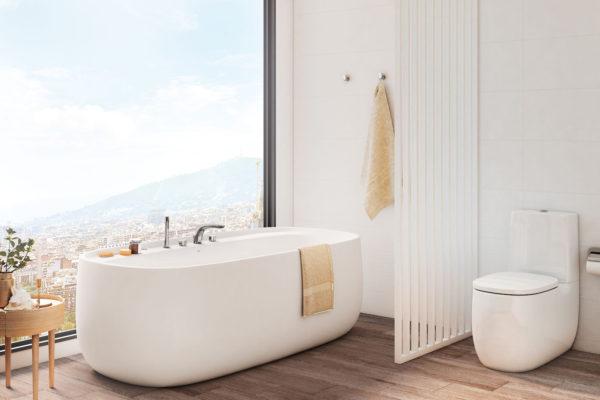 Roca free standing oval bathtubs