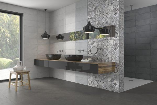 Camargue concrete finish tiles