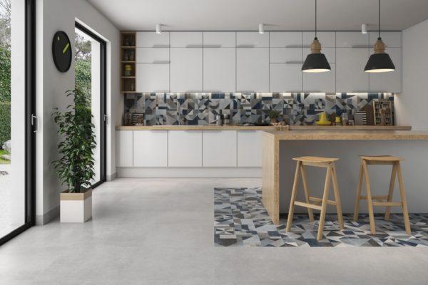 Core concrete finish tiles