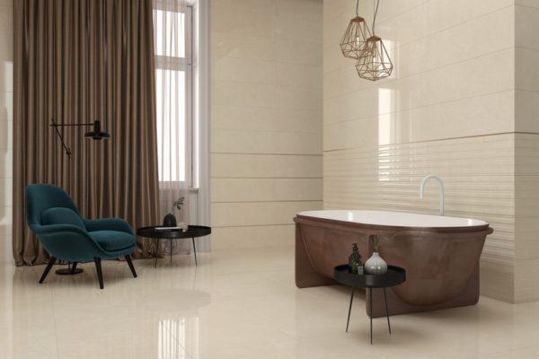 Natural crema 01 marble flooring