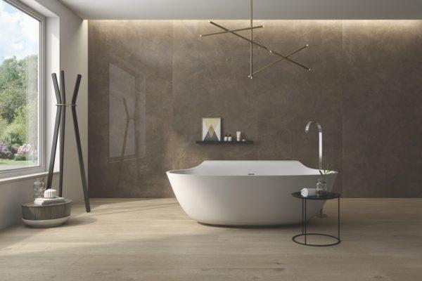 Elegant croce marble flooring