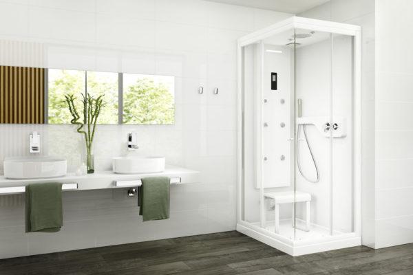 Zen cabina shower column
