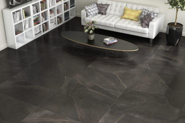 Magma grey emerita marble flooring