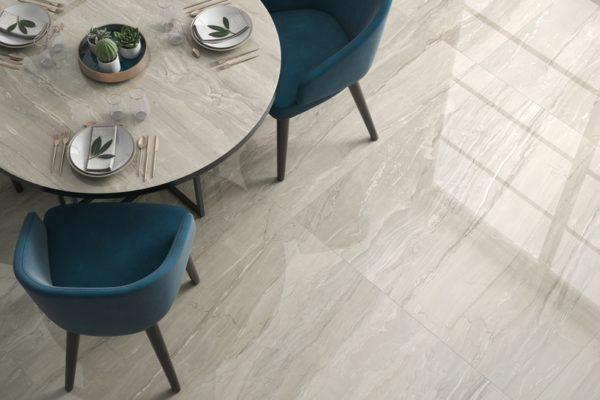 Eos cream marble flooring
