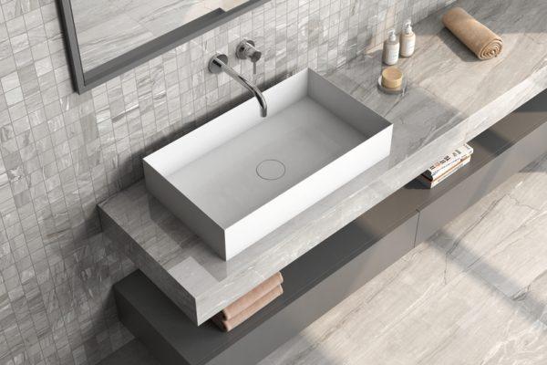 Eos malla greige marble flooring
