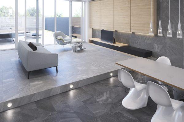 Falcon grey stone tile