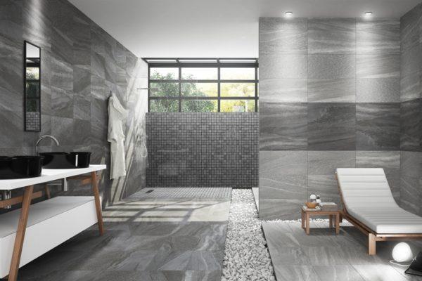 Falcon gray stone flooring
