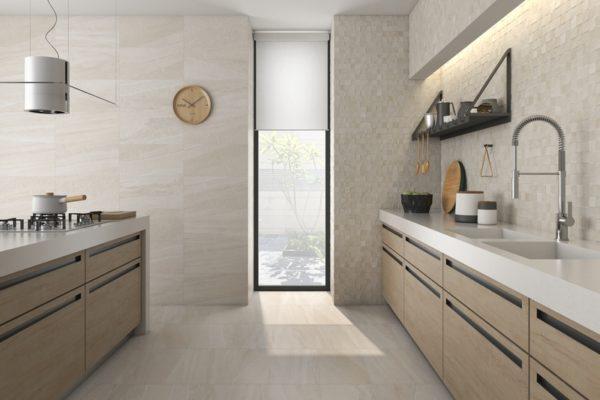 Falcon beige stone flooring