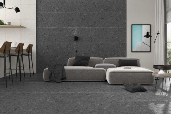 Flodsten night stone flooring