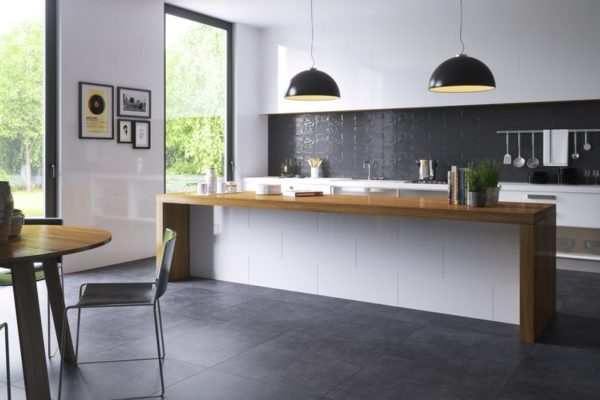 Foster clay concrete finish tiles