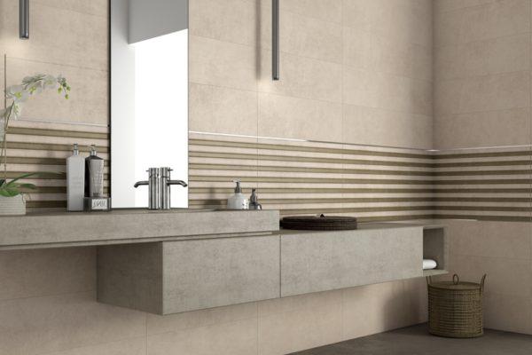 Foster concrete finish tiles
