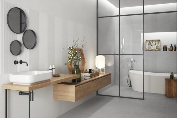 Galway concerete finish tiles