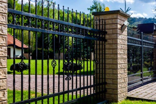 Grill modern gate