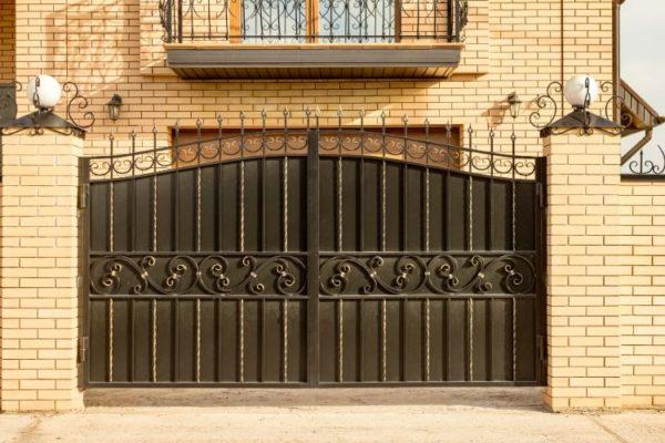 Black main gate