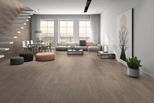 Jasper brown wood flooring
