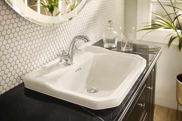 Carmen wash basin on furniture