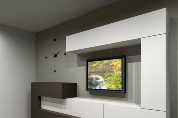Tv unit modern design