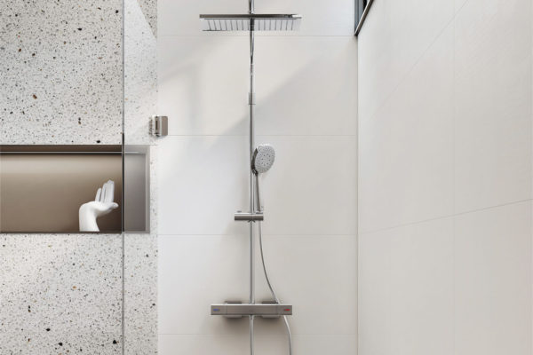 Detailed shower head