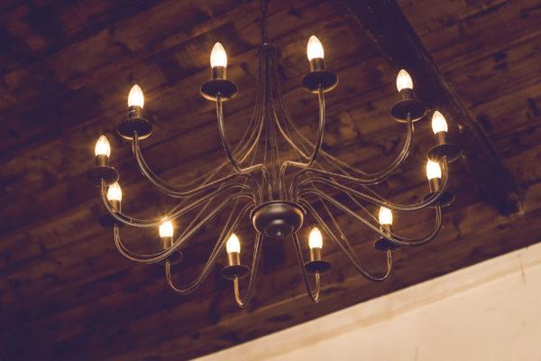 Hartcliff 12 light wrought iron chandelier