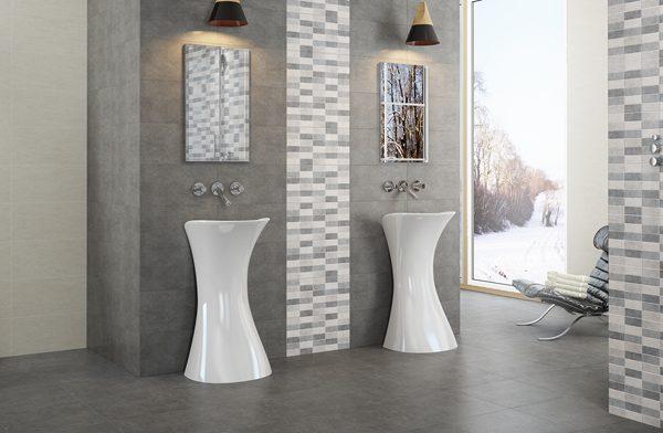 Micenas concrete finish tiles
