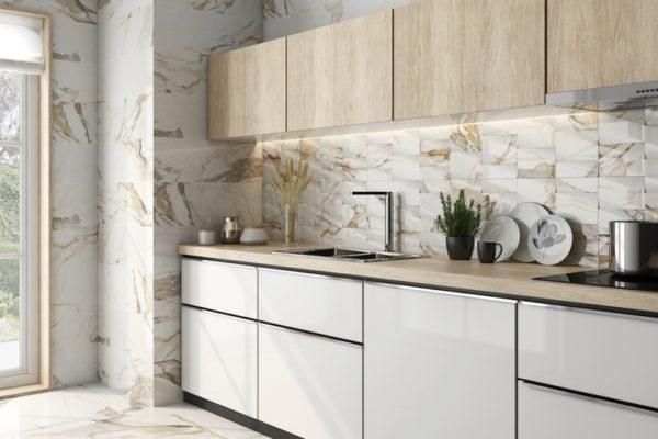 Midas cream marble flooring