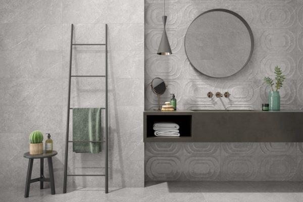 Modico grey marble flooring