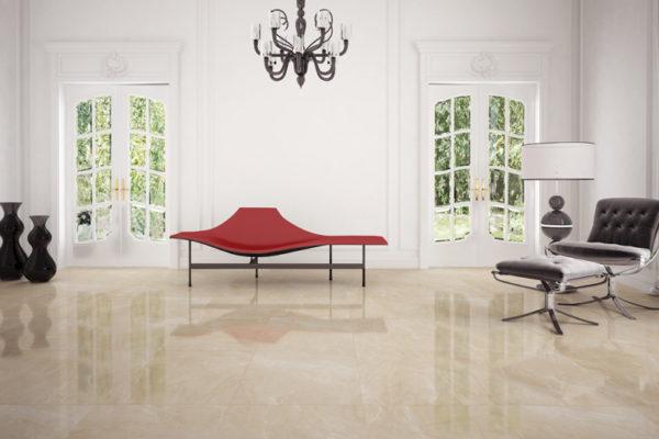 Nitro beige brillo marble flooring
