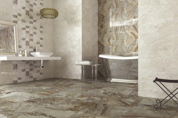 Orinoco marfil marble flooring