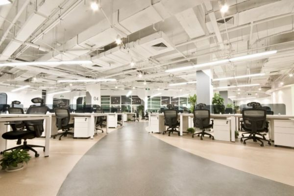 Large size office design