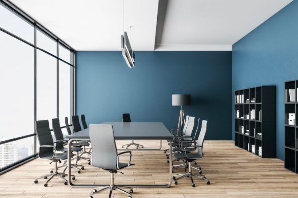 Contemporary stainless steel office furniture